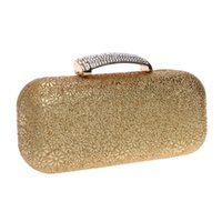 Wholesale mix color handbag shoulder bag - 2016 Printed Diamonds Women Evening Bags Mixed Color Wedding Handbags For Party Bags Purse Small Evening Bag Messenger