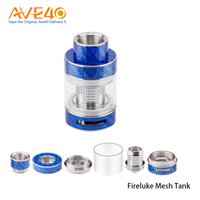 Wholesale glass mesh - Freemax Fireluke Mesh Glass Tube 3ml 5ml Capacity fit Fireluke Mesh Sub Ohm Tank