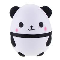 ingrosso grande panda giocattolo-Kawaii Jumbo Carino Big Size Panda Uovo Decorazione Della Casa Simulazione rilassamento Spremere Vent Amore Panda Squishies Giocattoli Per Bambini AL0003
