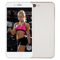 Wholesale Gold 256gb - Unlocked Goophone i8 Plus Quad Core MTK6580 1280*720 1GB+12GB Show 256GB Show 4G LTE 3G WCDMA GPS Wifi Android Cellphone