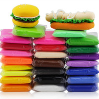 Wholesale Super Light Clay - Fluffy Super Light Floam Slime Mud Hand Putty play Clay Solid 24 Colors Stress Relief Gift For Kid Toy No Smell 20g