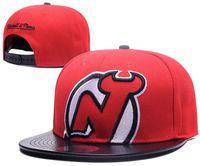 Nueva Marca NUEVA JERSEY sombrero DVILS Cap Hip Hop strapback hombres  mujeres Gorras de béisbol Snapback Sombrero de algodón sólido Europeo de  moda sombrero f3dd1001617