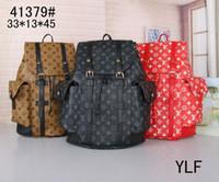 bolsas de senderismo para hombres al por mayor-Hot Sell Classic Fashion bags diseñador de la marca Mujeres Hombres Mochila Estilo Bolso Unisex Bolsos de hombro Bolsa de viaje (9 colores para elegir)