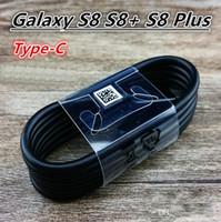 Wholesale pro usb cable - OEM Original 1.2M Type-C Micro USB C Black Cable Fast Charger EP-DG950CBE For Samsung Galaxy c7 pro c9 S7 S8 Plus.