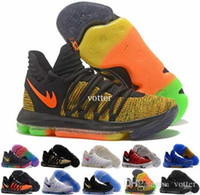 Wholesale Kds Shoes - KD 10 X Men Basketball Shoes Homme White Tennis BHM Kevin Durant KD10 10s Kds Elite Floral Aunt Pearls Easter Sport Sneakers Trainers