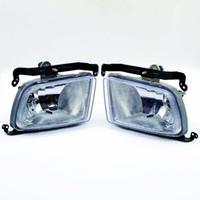 kia lampe großhandel-2 stücke hohe quanlity auto styling runde frontstoßstange nebelscheinwerfer lampe für kia rio nebelscheinwerfer lauflicht nebelscheinwerfer
