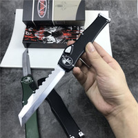 Wholesale tactical combat survival gear resale online - Special Offer MT MicRo Tech Automatic Knives Halo VI Knife quot Satin single action Knife Tactical knife Survival Gear Knives