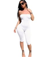 Wholesale leggings time for sale - Group buy 2018 Summer Leggings slimming new time thin pants color Sexy breast piece women Jumpsuit Size S XL