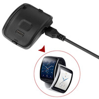 Wholesale samsung gear charger dock resale online - New Charger Dock Station For for Samsung Gear S r750 Smart Watch Charger Desktop USB Charging Cable for Samsung