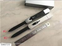 ação única venda por atacado-3 tipos de faca Tático única ação 440C aço auto faca dobrável de acampamento ao ar livre faca portátil Caça bolso de sobrevivência facas facas dos EUA