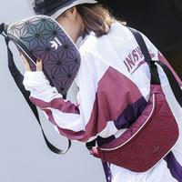 bandolera casual para hombre al por mayor-Bolsos de hombro de marca Bolso de cintura Diseñador Messenger Bag Dazzle Color Hombres Bolso de hombro de lujo Cross-Body Zipper para mujeres Sport Casual