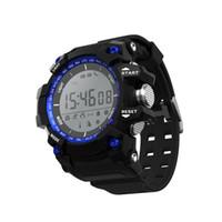 medidores de fitness al por mayor-Inteligente Deportes al aire libre Dwatch Fitness Tracker 30 metros Impermeable Smartwatch Mensaje Podómetro Monitor de sueño Reloj Bluetooth para IOS Android