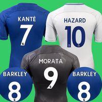 Wholesale Fabregas Jersey - Thailand 2017 2018 MORATA soccer jersey Hazard BAKAYOKO RUDIGER jersey 17 18 football shirt kit Fabregas KANTE BARKLEY camisetas de futbol