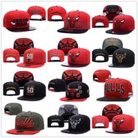 Wholesale cycling caps cheap - wholesale Newest CHICAGO Adjustable BULLS Snapback Hat Best Cheap Letters Adults Sports Baseball Caps Cotton Active Sun hats for Men Women