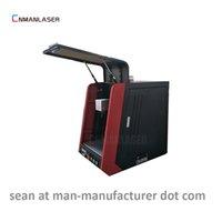 Wholesale laser marking instrument - enclosed portable raycus 20w fiber laser marking machine for buckles medical instruments