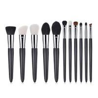 макияж порошок для продажи оптовых-New Arrival 11PCS Cosmetic  Brush Brushes Foundation  Eyeshadow Brush Set 2018 Hot Sale