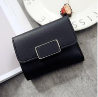 Wholesale wallet for women famous brand - High Quality wallet with gift box short Wallets Card Holders Famous Brand for Men women purse Clutch Bags