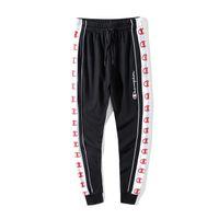 Wholesale boys hip hop pants - Wholesale-men's 2018 new brand summer cotton joggers pant hip hop boy london pants star print fashion men pencil pants casual pants men