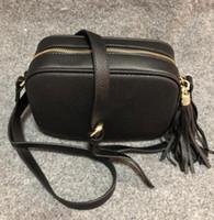 khaki crossbody tasche großhandel-Frauen Umhängetasche Leder Soho Bag Disco Crossbody Tasche Geldbörse 6 Farbe