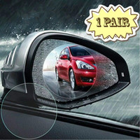 Waterproof Membrane Rainproof Car Rearview Side Mirror Glass Film Anti-fog Automobile Film Car SUV Rearview Mirror Protective Film