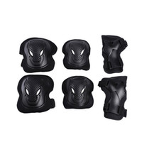 Wholesale exercise bicycles - Sports Outdoors Safety Elbow Knee Pads Guard Two Pieces Each Suit Maximal Exercise Skating Bicycle Protect Parts 18py bb