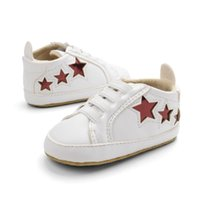 niedriger schuh großhandel-Neugeborenen Herbst Low-Cut Schuhe Kleinkinder Casual Erste Wanderer Baby Softe Bottom Sneaker Babyschuhe