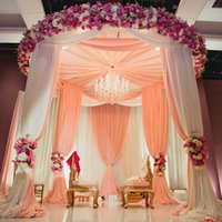 Wholesale house pipes - Wedding Design decor Pipe And Ceiling Drape Match Backdrops Background For Wedding Events Young Party Banquet