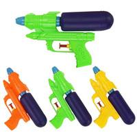 pistolas de ar quente venda por atacado-Verão criativo pistolas de água crianças ao ar livre interessante praia pulverizador de brinquedo por pressão de ar para crianças venda quente 1bx ww