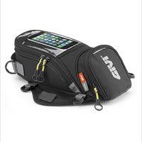 ingrosso moto mobile-GIVI Motorcycle new fuel bag borsa di navigazione per cellulare multi-funzionale piccolo serbatoio olio pacchetto magnetico fisso cinghie fisse K