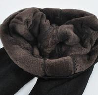 Wholesale velvet trousers women - Bohocotol Elastic Plus Velvet Women 'S Autumn And Winter High Waist Skin Color Incarcerators Legging Trousers Thickening Step One