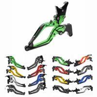 Wholesale clutch levers for kawasaki for sale - Group buy For KAWASAKI NINJA R ER F ER N Motorcycle CNC Adjustable Folding Extending Brake Clutch Levers