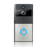 32 gramlık izle toptan satış-Toptan hotsale Megapiksel 720 P WIFI Akıllı Kapı Zili kapalı halka desteği ile 32G SD uzaktan izle iki yolu ses