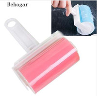 Wholesale pet hair remover furniture for sale - Group buy Behogar Reusable Washable Lint Roller Sticky Silicone Dust Wiper Pet Hair Remover Cleaning Brush Tools for Pet Cloth Furniture