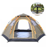 Wholesale Pop Up Tents - Wnnideo Instant Family Tent 6 Person Large Automatic Pop Up Waterproof for Outdoor Sun shelter Camping Hiking Travel Beach