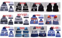 Wholesale Yarn For Sale Wholesale - 2017 Newest Hot Sale Baseball beanie Basketball Football Ice Hockey Cap Winter Beanie Hats For Men Knitted Beanies Warm Caps Drop Shipping