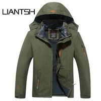 35c0513479 Men Winter Hooded life thermal rain Outdoor jackets for men