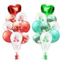 balon gemisi toptan satış-18 adet 12 inç Balonlar Düğün Parti Dekorasyon Balon Doğum Günü Partisi Süslemeleri Noel Süslemeleri Toptan Drop Shipping