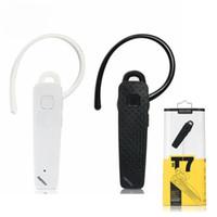 Wholesale sumsung earphones resale online - Remax T7 rb t7 Sport wireless Bluetooth Headphones headset business Earphones earbuds For iphone Sumsung