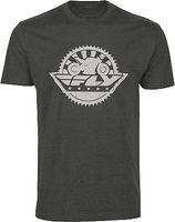 rueda de espigas al por mayor-Nueva marca - Ropa Camisetas New Fly Racer Sprocket T Shirt Summer Fashion
