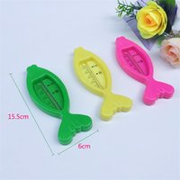 Wholesale Wholesalers For Baby Baths - Cartoon Fish Type Small Thermometers For Kid Kawaii Baby Care Shower Product Babies Water Thermometer Creative 0 65xs X