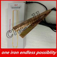 secador de pelo eléctrico envío gratis al por mayor-Rizadoras de marcas famosas 2 en 1, versión electrick, muy adecuadas para tomar y de alta calidad.
