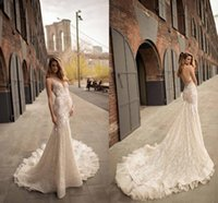 0046db740e40 Wholesale couture wedding dresses for sale - Group buy New Couture Berta  Backless Wedding Dresses Lace