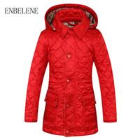 ingrosso cappotto rosso invernale del ragazzo-Giacca in cotone per bebè per bebè rossa Cammello in tartan nero con cappuccio Cappotto con capispalla Autunno Inverno Bambini Piumino FH523