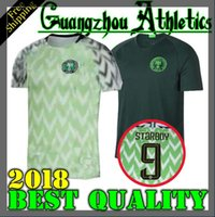 Wholesale Soccer 12 - 2018 Nigeria SOCCER JERSEYS HOME IWOBI 18 SHEHU 12 AWAY GREEN 18 19 IHEANACHO OBI NDIDI JERSEY OQU FOOTBALL SHIRTS