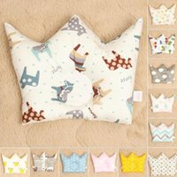girls room accessories 2018 - Baby Shaping Pillow to prevent flat head Infants Crown Dot Bedding Pillows Newborn Boy Girl Room Decoration Accessories pp11