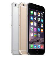 iphone6 plus apple оптовых-Оригинальный 4.7 дюймовый Apple iPhone 6 Plus iphone6 IOS Phone 8.0 Мп Камера без сенсорного ID 4G LTE разблокирована Восстановленное Сотовые телефоны