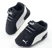 Wholesale kids first shoes online - Newborn Baby Boys Kids Shoes Crib Bebe Infant Toddler Classic Fashion Metal Buckle First Walkers Loafers Prewalkers