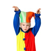Wholesale Cosplay - Kids Clothing Baby Clothes Baby Boy Clothes Boys Clothes New Harlequin Costume Kids Clown Halloween Fancy Dresses Cosplay Hot Fashion Set