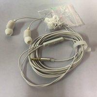 iphone drähte 3m großhandel-3M verdrahteten Kopfhörer 3,5 mm Klinke In Ohr Kopfhörer Stereo Minitor heaset mit Mic für iPhone Huawei-Computer mit storge Fall