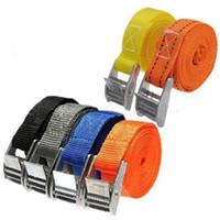 naylon kravat kilitleri toptan satış-Metal Kam Toka Kravat Aşağı Güçlü Naylon Hızlı Kilit Kayış Bagaj Kargo Kirpik Kemeri Tutturmak